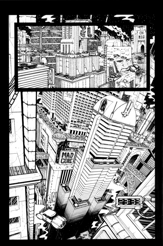 The rendez vous 001 - comic book page from 2005
