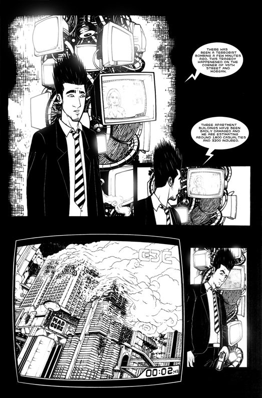 The rendez vous 0015 - comic book page from 2005