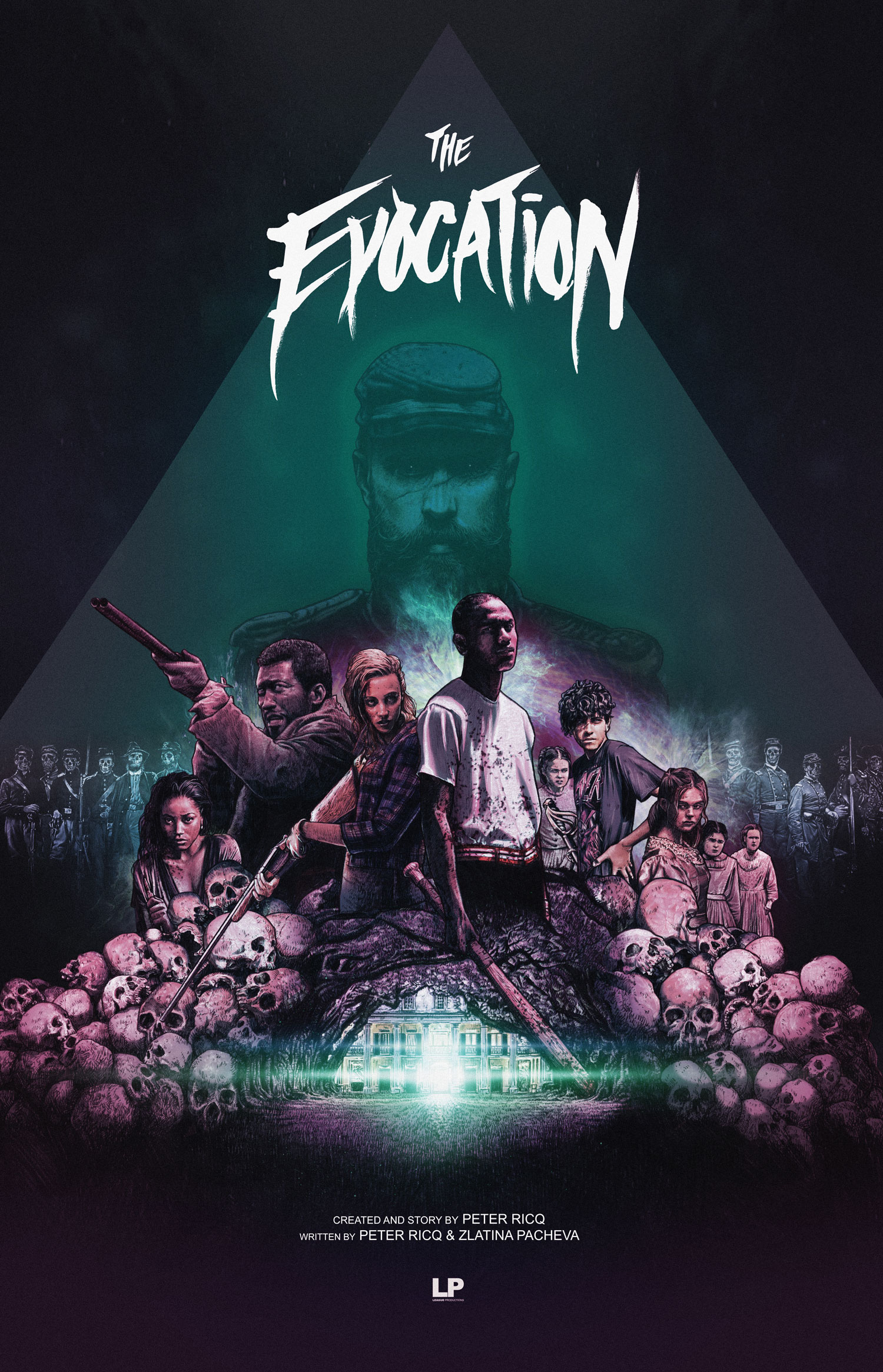The Evocation - 2018 - Proof of concept poster for a TV series